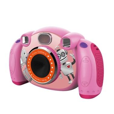 2-Zoll-HD-Bildschirm für Kinder-Camcorder mit rutschfesten und rutschfesten SD-Karten für Kinder