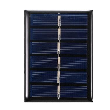 0.3 W 3V Mini painel solar de silicone policristalino pequena célula solar faça você mesmo à prova d