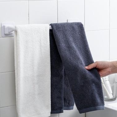 Handtuchhalter Bad Handtuch Kleiderbügel Nagelfreier Wandhalterung Handtuchhalter für Badezimmer Küchenhandtuch Aufbewahrung Selbst