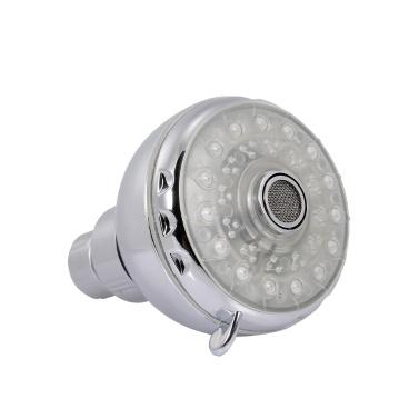 LED Rainfall Shower Head Round Shower Head