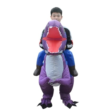 Inflatable Dinosaur Costume Blow Up Fancy Dress Cosplay Costumes