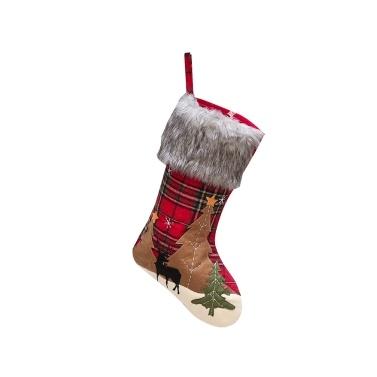 Christmas Stocking Hanging Christmas Stockings Plaid
