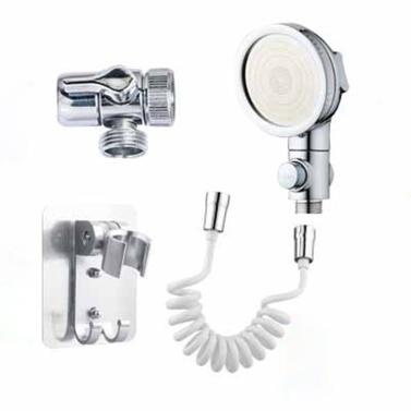 Hand Shower Bathroom Sink Sprayer Rinser Set for Hair Washing Sink Hose Faucet Sprayer