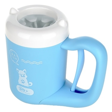 Automatic Paw Cleaner Cup Dog Paw Washer Brush Silicone Dog Feet Cleaner Muddy Paw Cleaner