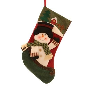 Christmas Stocking 1 Pack Classic Christmas Stocking (Santa)