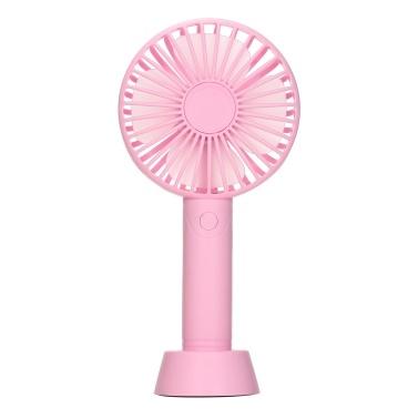 Portable Fans with Anti-slip Base & Phone Stand Desktop Fan Mini USB Fan Aromatherapy Fan Quiet Cooling for Office Home Travel Kitchen Desktop