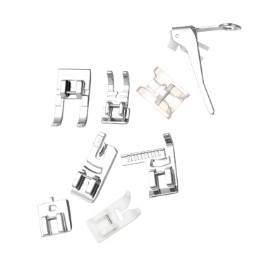 52pcs Professional Sewing Machine Presser Feet Kit Compatible Set for Low Shank Sewing Machine(For Brother/Babylock/New Home/Singer/Janome/Kenmore etc.)