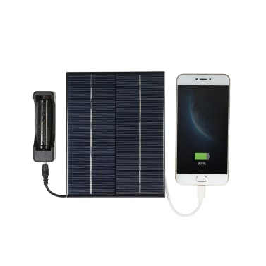 3.5W 5V Polycrystalline Silicon Solar Panel Solar Cell for Power Charger USB Port 18650 Battery Charging