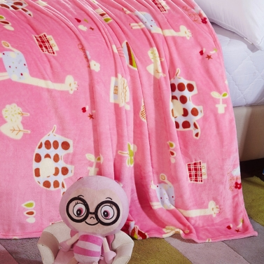 Flannel Polar-fleece Blanket of High Quality Polyester Fiber Soft and Warm  200g/㎡ Sales Online #3 xl - Tomtop