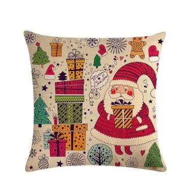 1Pc Santa Claus Christmas Decorations  Pillowcase