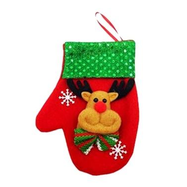 Christmas Candy Bag Besteckbeutel