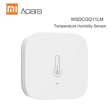Aqara WSDCGQ11LM Temperatur-Feuchtigkeitssensor Echtzeit-Temperatur- und Feuchtigkeitserkennung