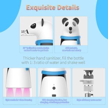 Automatischer berührungsloser Schaumseifenspender 260 ml Ausgestattet mit Infrarotsensor Wasserdicht für Badezimmer Küche Toilette Büro Hotel