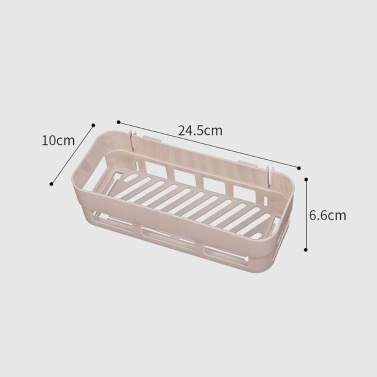 4 Stück Badezimmerregal Wand-Duschkabine ohne Bohren Duschablagekorb Küchenregal Regal Organizer