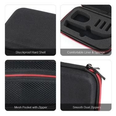 Rasierkoffer für Philips OneBlade Pro QP150 / QP6520 Reisetasche mit elektrischem Trimmer Stoßfeste und wasserdichte EVA-Hartschalen-Tragetasche