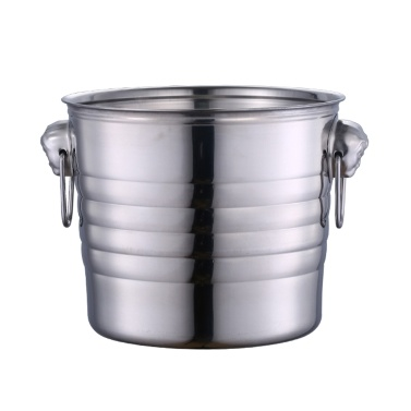 Ice Bucket Well-made Stainless Steel Ice Cold Champagne Bucket