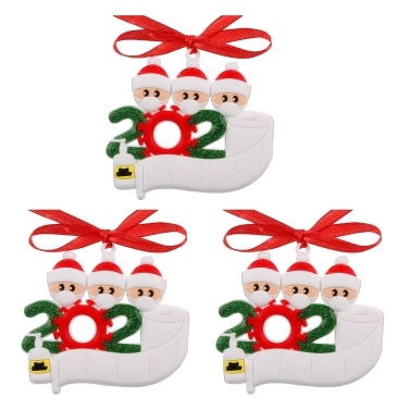3pcs Christmas Tree Hanging Ornaments