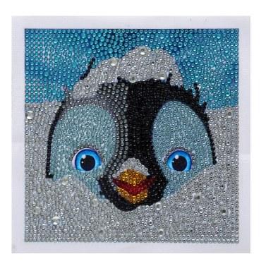 DIY 5D Diamond Painting Cute Panda Pattern 150x150mm