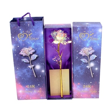 Artificial Colorful Rose Flower