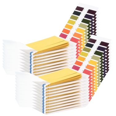 PH-Teststreifen 1600 Strips Professional Universal PH 1-14 Testpapier für die Speichel-Urin-Wasser-PH-Überwachung