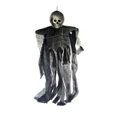 Halloween Pendurado Ghost Life Tamanho Crânio Careta Casa Assombrada Quarto Escapar Ceifador
