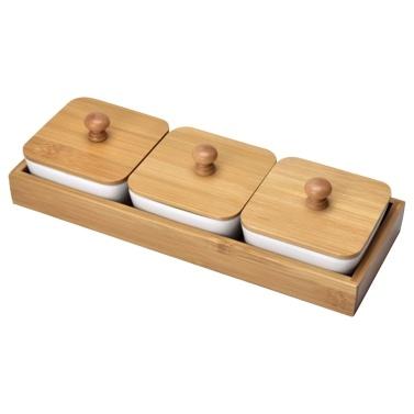 Badewanne Snack Tablett Vorspeise Tablett