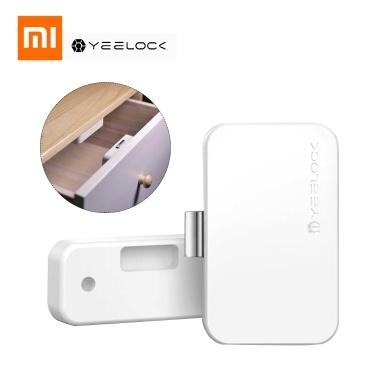 Xiaomi YEELOCK Intelligente Schubladensperre APP BT Diebstahlsichere Kindersicherung ohne Schlüssel entsperren