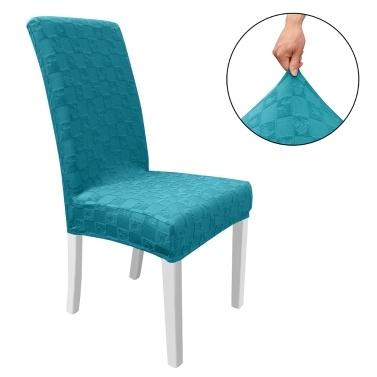 Esszimmerstuhl Schonbezug, High Stretch Abnehmbarer Stuhlbezug Waschbarer Stuhlsitzschutzbezug