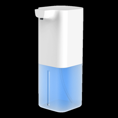 350 ml automatischer Seifenspender Mist Touchless Freisprech-Infrarot-Bewegungssensor Schaummaschine Handwaschmaschine