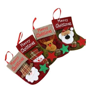 Christmas Stocking 4 Pack Classic Christmas Stocking