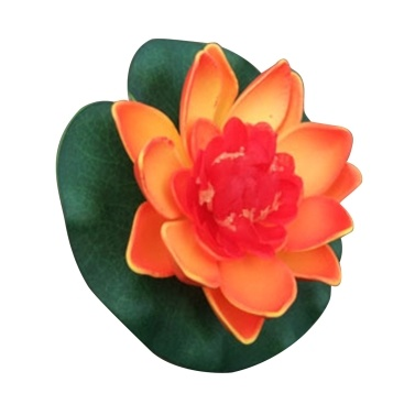 4 Inch Artificial Floating Lotus