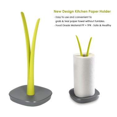 Anself New Design Kitchen Paper Holder PP Plastic Towel Holder Decorative Toilet Paper Holder