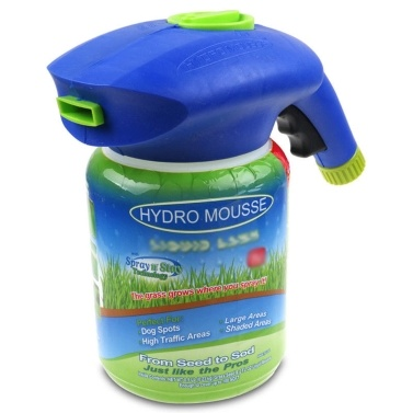 Hydro Mousse Liquid Lawn Grass Growth Garden Sprayer Bottle  (No Seeds and Growth Substance)