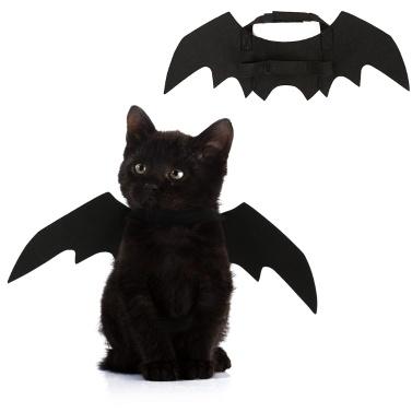 87% de réduction sur les ailes de chat de chien noir, seulement 2,13 € sur tomtop.com + livraison gratuite