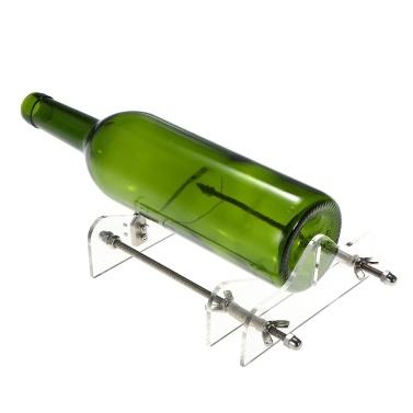 Стеклянная бутылочная резка Акриловая машина для резки бутылок DIY с наждачной бумагой