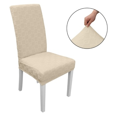 Dining Chair Slipcover, High Stretch Removable Chair Cover Washable Chair Seat Protector Cover