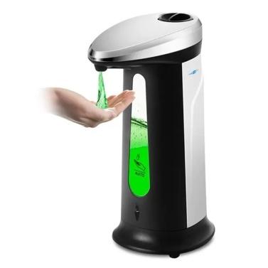 400ml Automatischer Seifenspender Elektrischer Seifenspender Berührungsloser automatischer Handseifenspender für Badezimmer Küche Hotel Restaurant