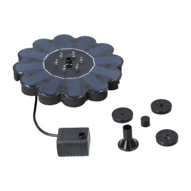 Solar Powered Water Fountain Pump