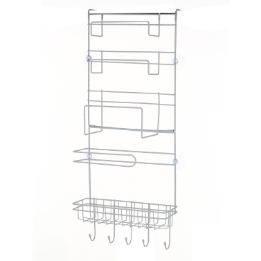 S-8008 Refrigerator Rack Fridge Side Shelf Multi-Layer Sidewall Holder