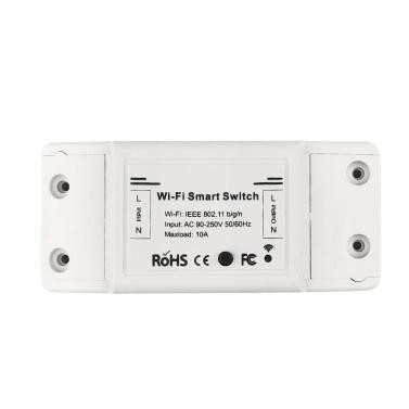Wi-Fi DIY Remote Switch Timer Compatible Amazon Alexa / Google Home / IFTTT / APP Control 10A/2200W   Wireless Light Lamp Fan Electric Appliances
