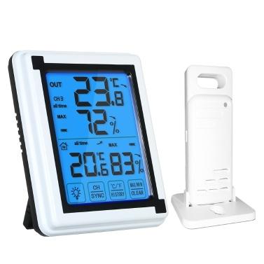 Digital Wireless Indoor Outdoor Thermometer with XP4 Waterproof Remote Sensor