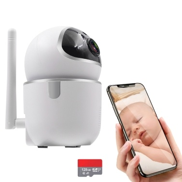 STARTRC WiFi 1080P Kamera IR Nachtsicht Bewegungserkennung mit 128G Speicherkarte