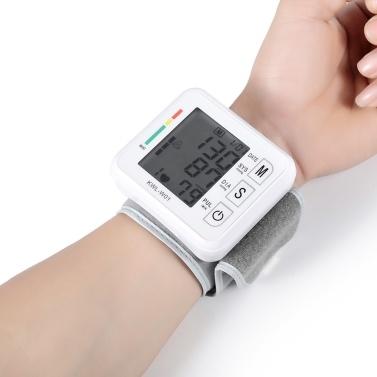 Moniteur de pression artérielle Sphygmomanomètre électronique de mesure de la pression artérielle au poignet