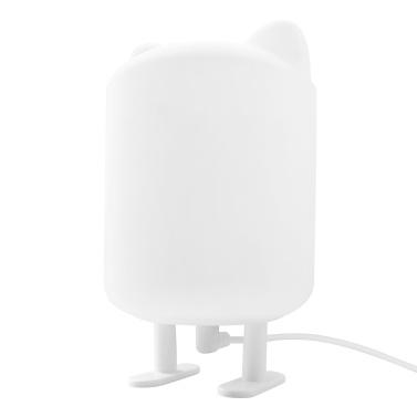 LED Nachtlicht Warmgelb Augenpflege Licht Weiches Silikon Niedlich LED Nachtlichter USB Nachttischlampe für Schlafzimmer Baby Kinderzimmer