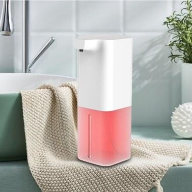 Distribuidor de sabão automático de 350 ml Distribuidor de espuma por indução sem toque sem mão e infravermelho