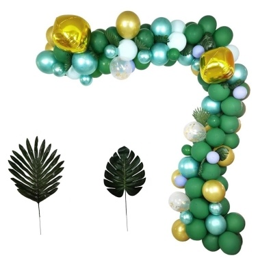 167PCS Dark Green Balloons Party Decorations Set