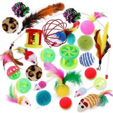 Cat Toy Variety Pet Toy Set