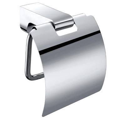 Homgeek Wall Mounted Chromed Stainless Steel Toilet Paper Tissue Rack Holder Hanger Bathroom Storage Kitchen Home Hotel