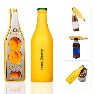 Magnetischer multifunktionaler Flaschenöffner Öffnen Sie den Bieröffner aus Soda und Wasserplastik
