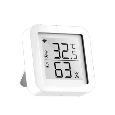 Tela de exibição de LCD Tuya WiFi USB Power Supplys Sensores Intellgient ℉ / ℃ Switch Temperatura / Umidade Display